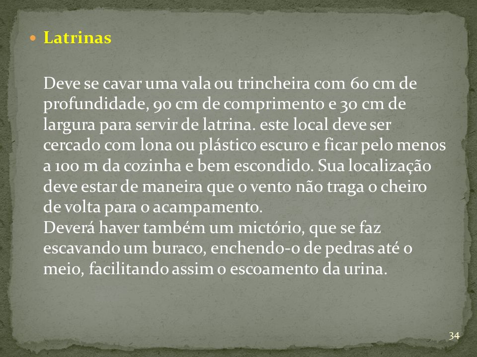 Latrinas