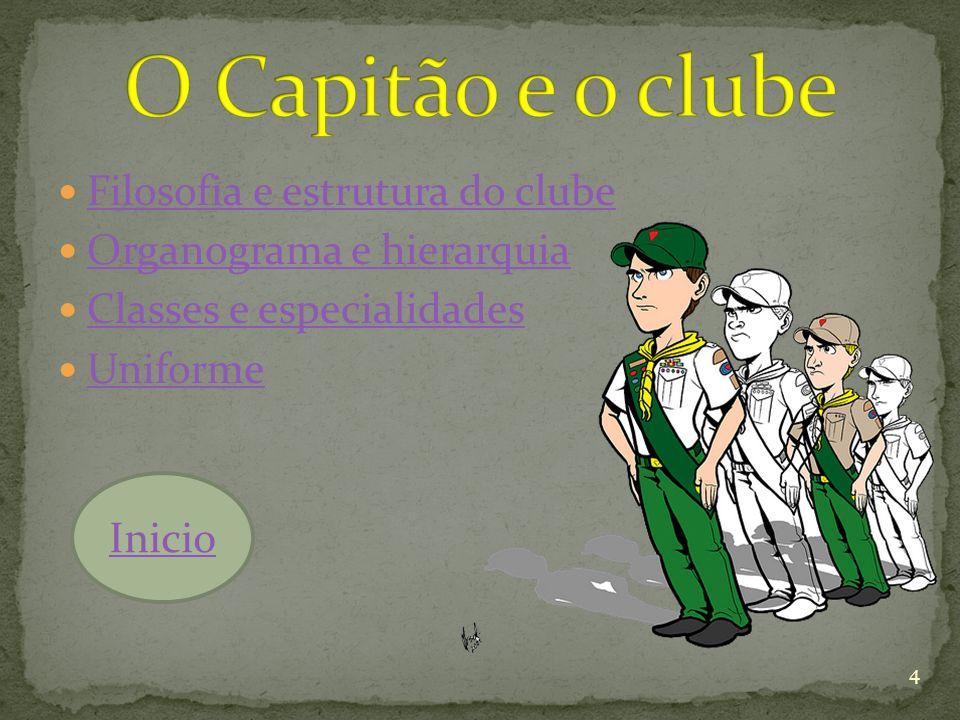 O Capitão e o clube Filosofia e estrutura do clube