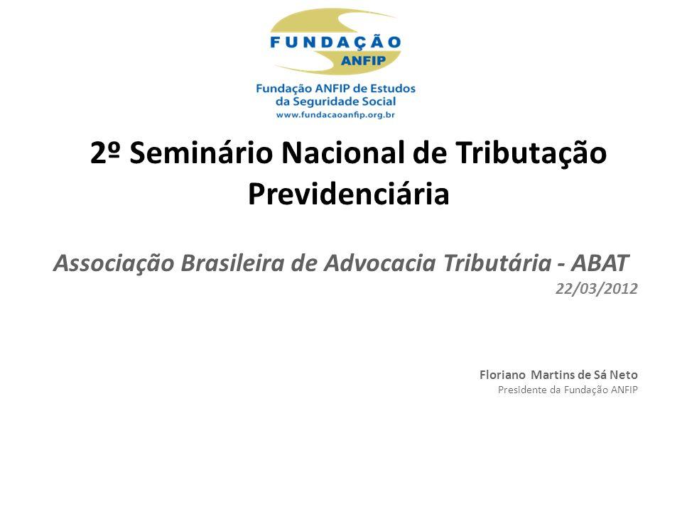 2º Seminário Nacional de Tributação Previdenciária