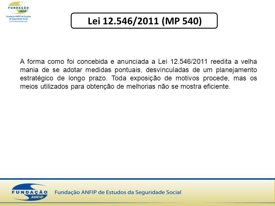 Lei 12.546/2011 (MP 540)