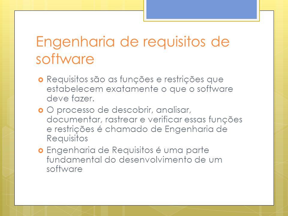 Engenharia de requisitos de software