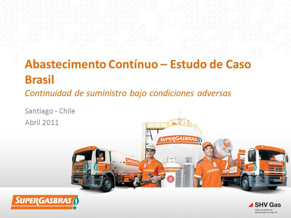 Abastecimento Contínuo – Estudo de Caso Brasil Continuidad de suministro bajo condiciones adversas