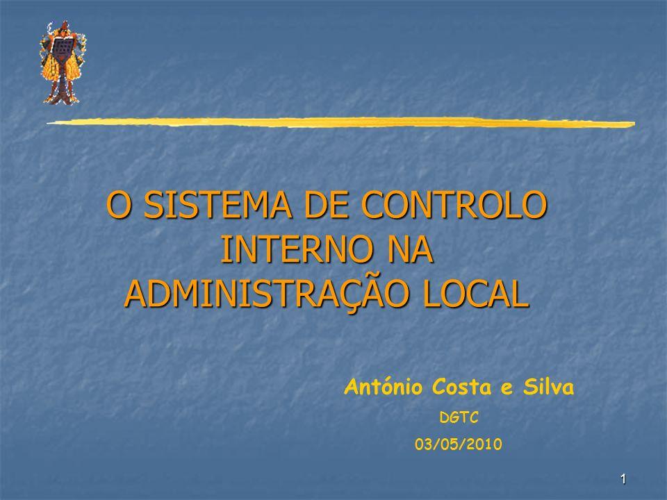 O SISTEMA DE CONTROLO INTERNO NA ADMINISTRAÇÃO LOCAL