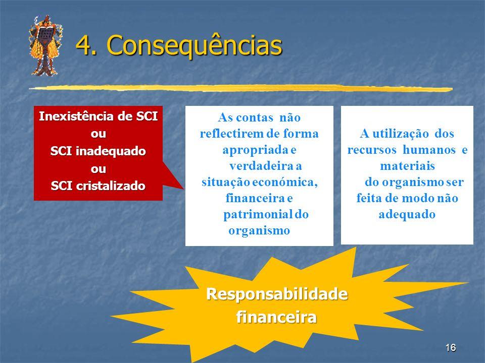 4. Consequências Responsabilidade financeira