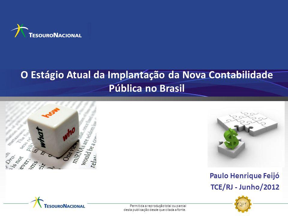 O Estágio Atual da Implantação da Nova Contabilidade Pública no Brasil
