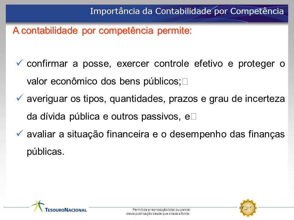 A contabilidade por competência permite: