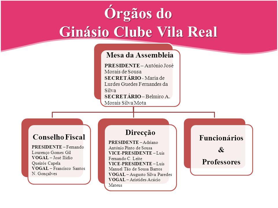 Órgãos do Ginásio Clube Vila Real