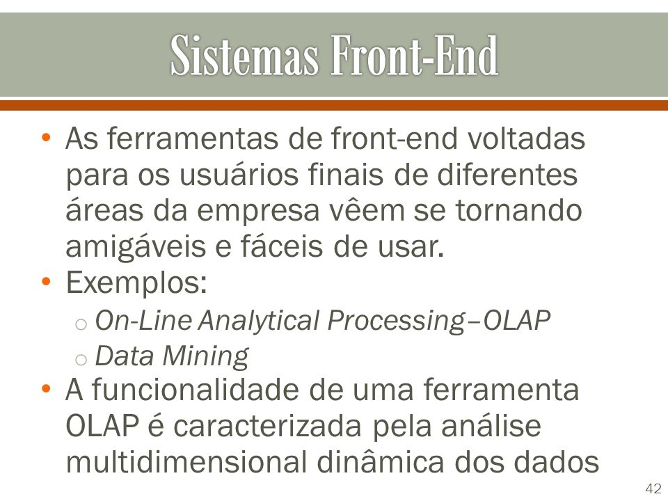 Sistemas Front-End