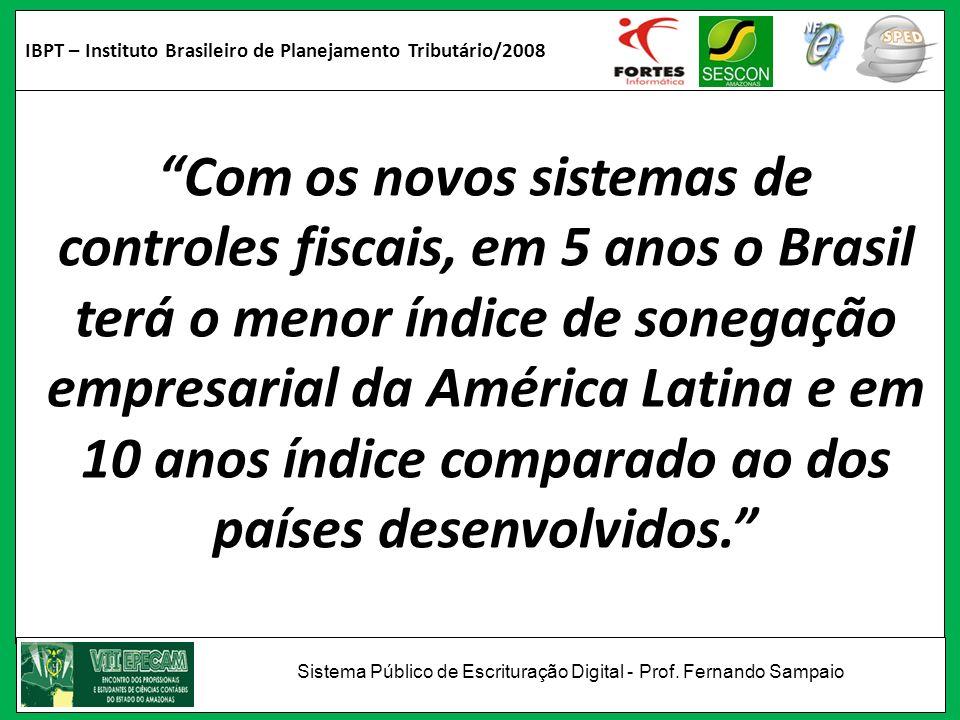 IBPT – Instituto Brasileiro de Planejamento Tributário/2008