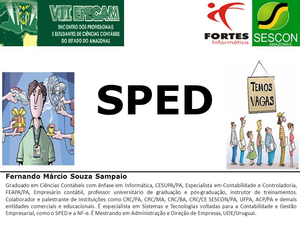 SPED Fernando Márcio Souza Sampaio