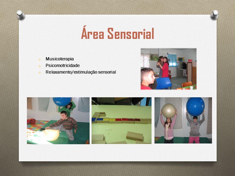 Área Sensorial Musicoterapia Psicomotricidade