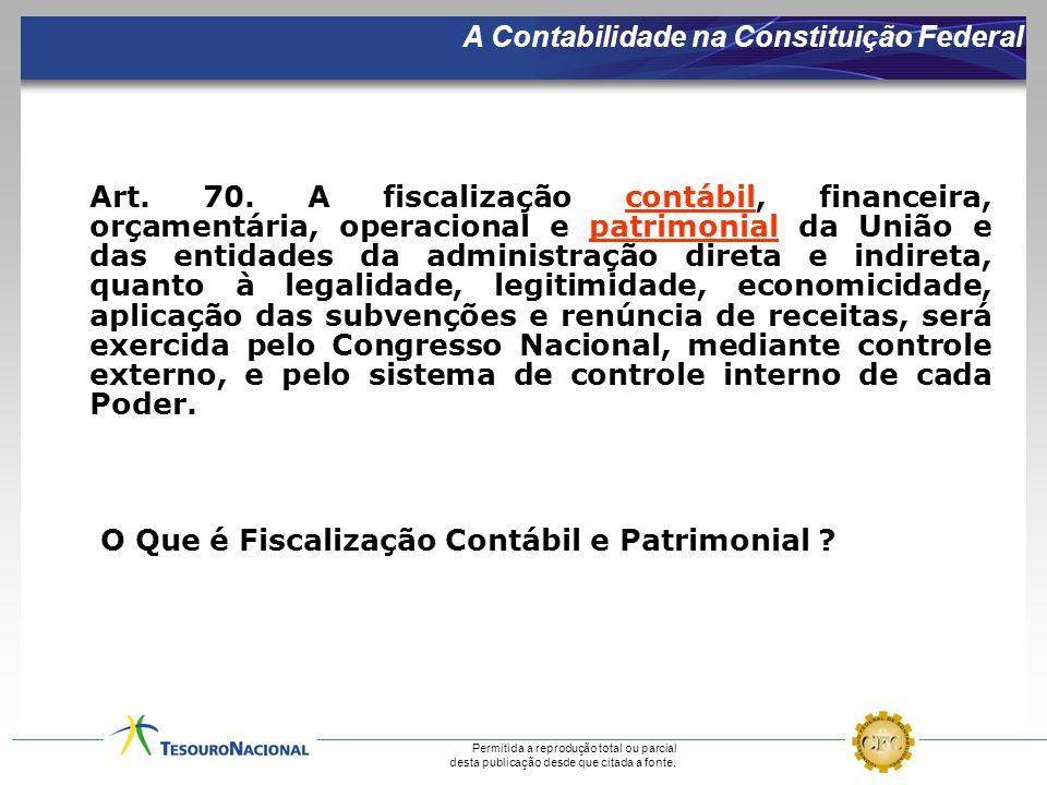 A Contabilidade na Constituição Federal