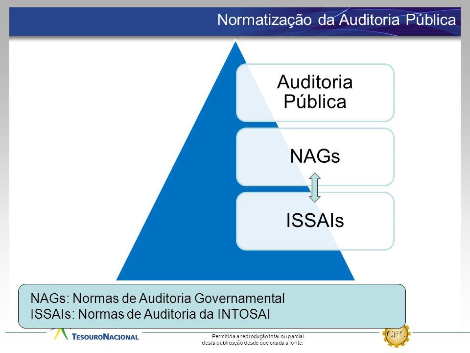 Auditoria Pública NAGs ISSAIs Normatização da Auditoria Pública