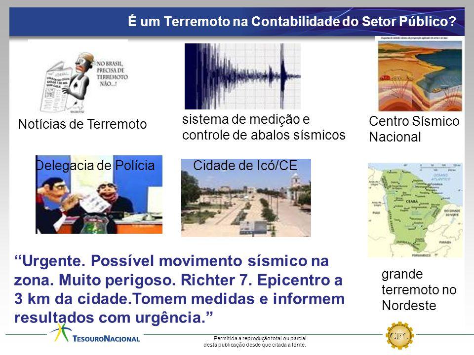 É um Terremoto na Contabilidade do Setor Público