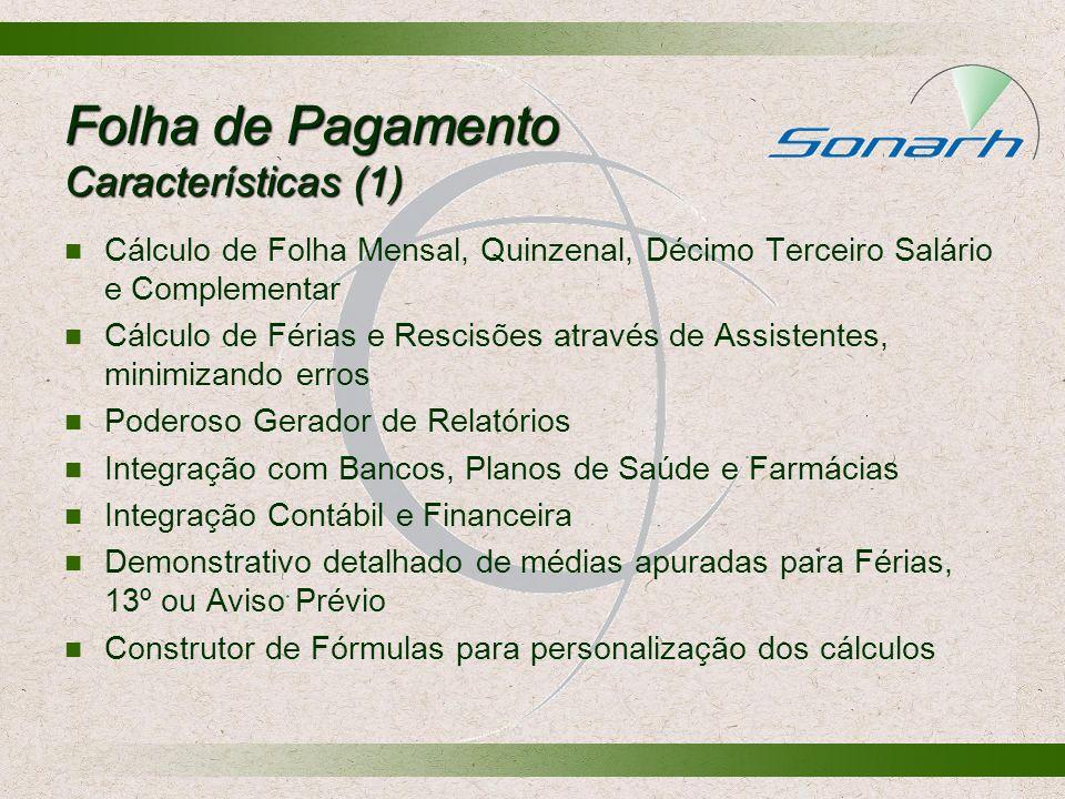 Folha de Pagamento Características (1)