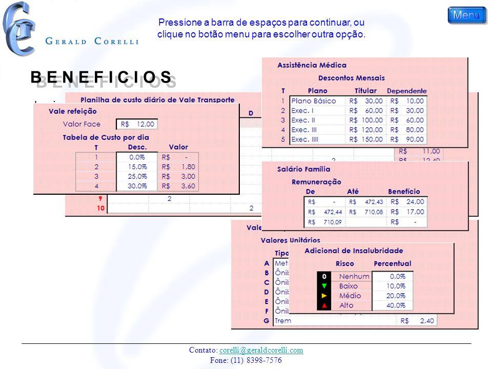 Contato: corelli@geraldcorelli.com Fone: (11) 8398-7576