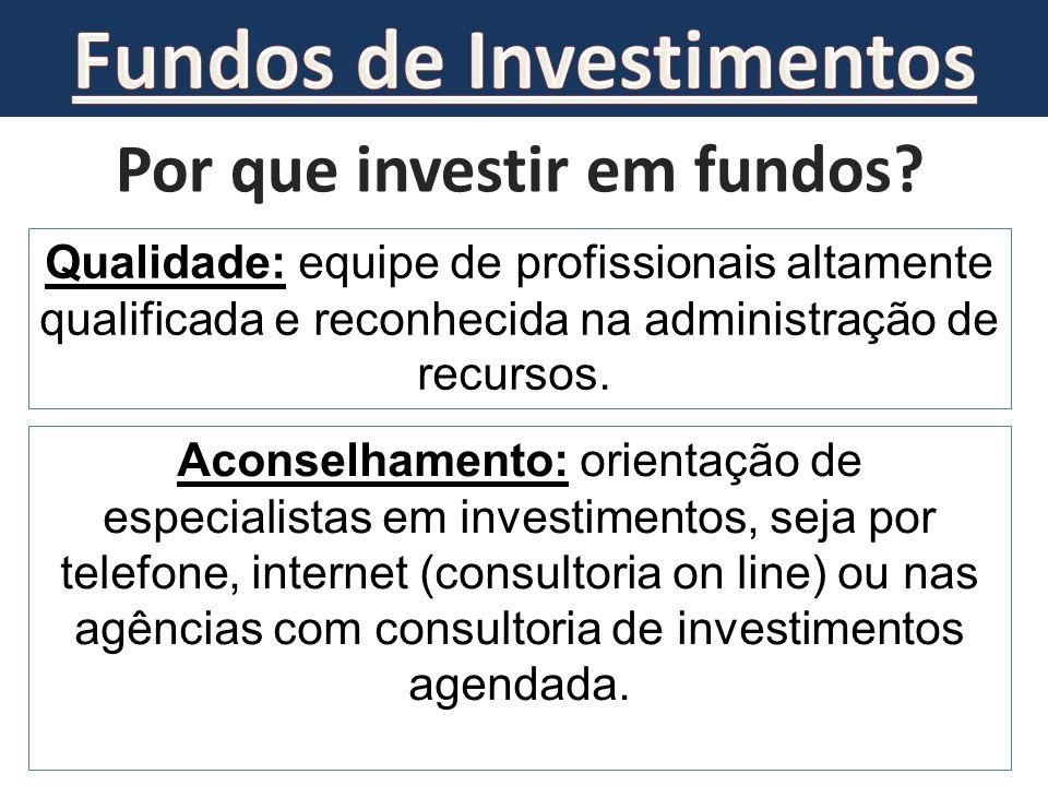 Fundos de Investimentos Por que investir em fundos