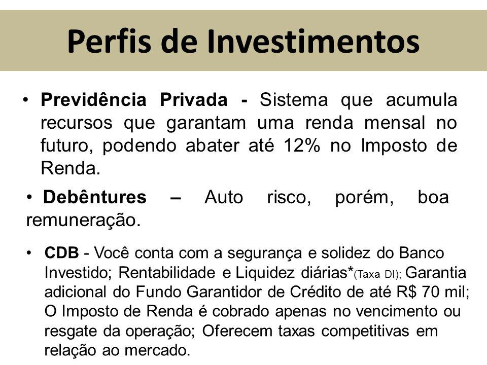 Perfis de Investimentos