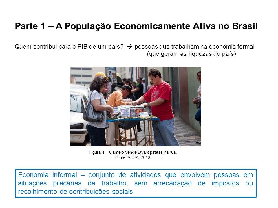 Parte 1 – A População Economicamente Ativa no Brasil