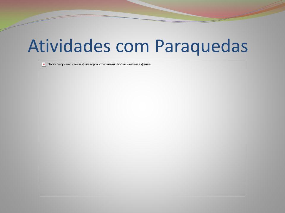 Atividades com Paraquedas