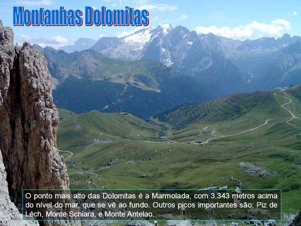 Montanhas Dolomitas