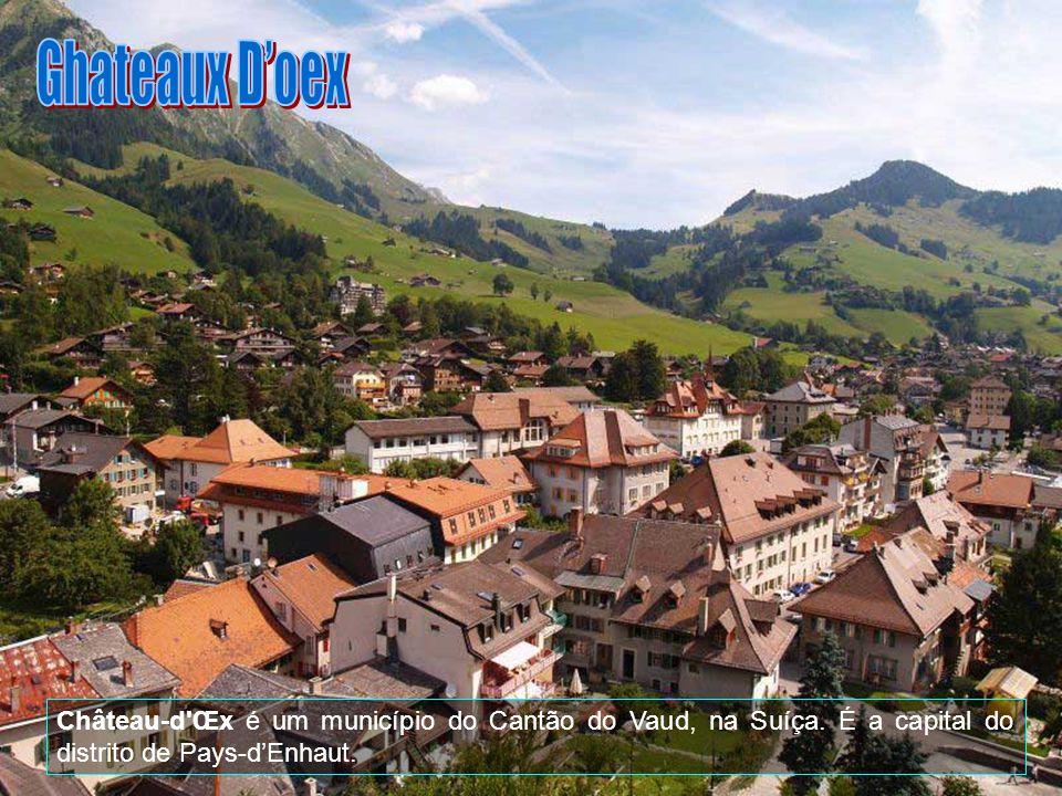 Ghateaux D'oex Château-d Œx é um município do Cantão do Vaud, na Suíça.