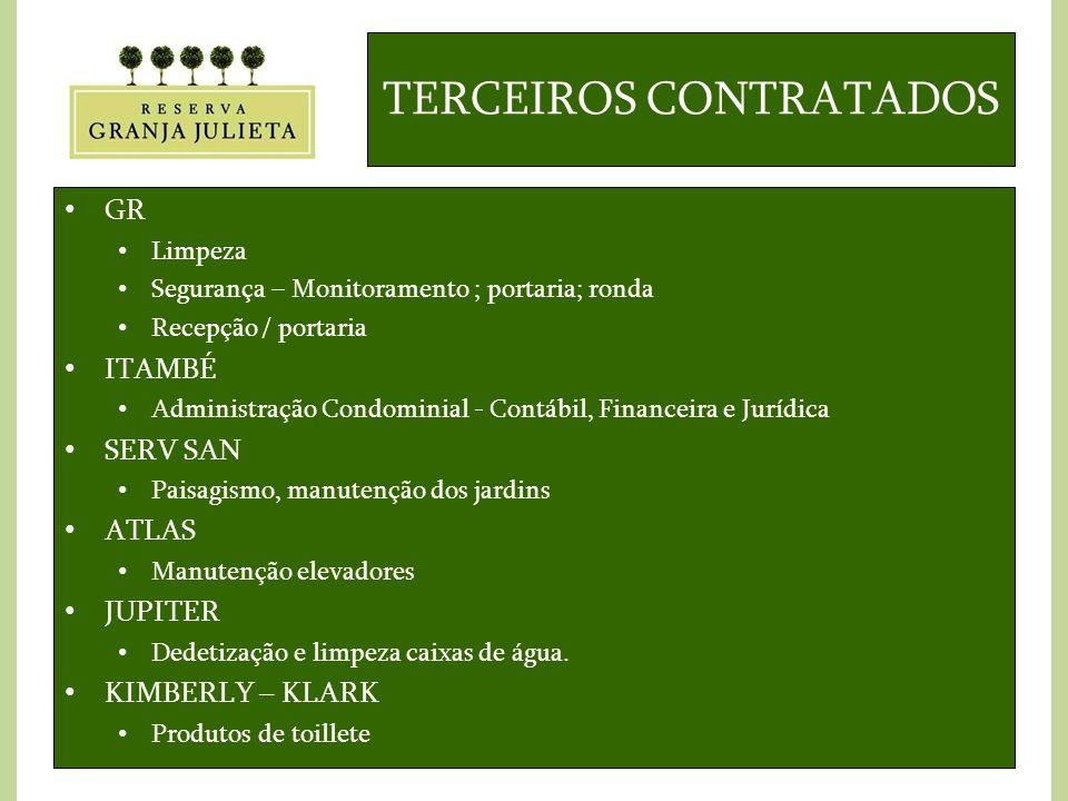TERCEIROS CONTRATADOS