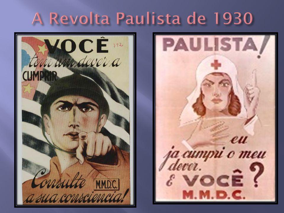 A Revolta Paulista de 1930