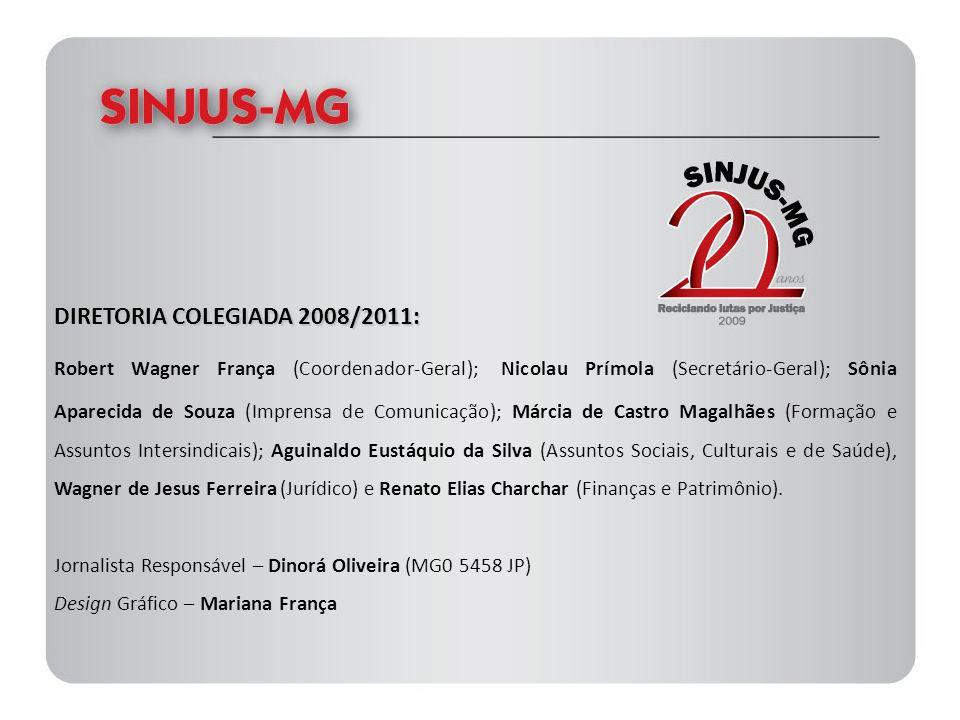 DIRETORIA COLEGIADA 2008/2011: