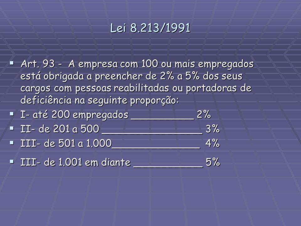 Lei 8.213/1991
