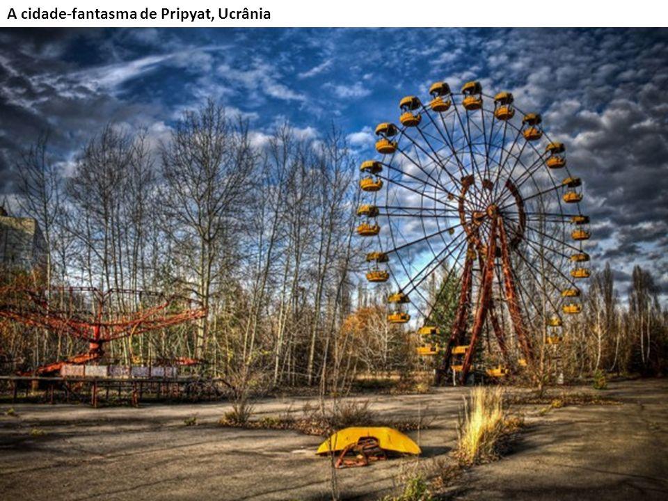 A cidade-fantasma de Pripyat, Ucrânia
