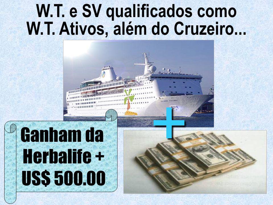 W.T. e SV qualificados como W.T. Ativos, além do Cruzeiro...