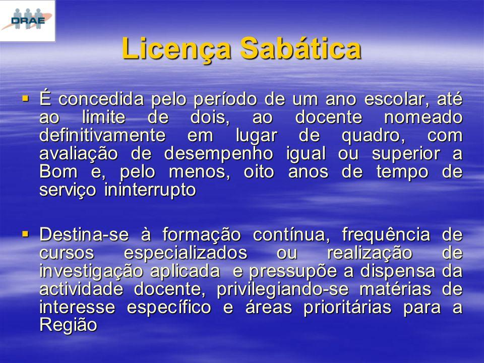 Licença Sabática