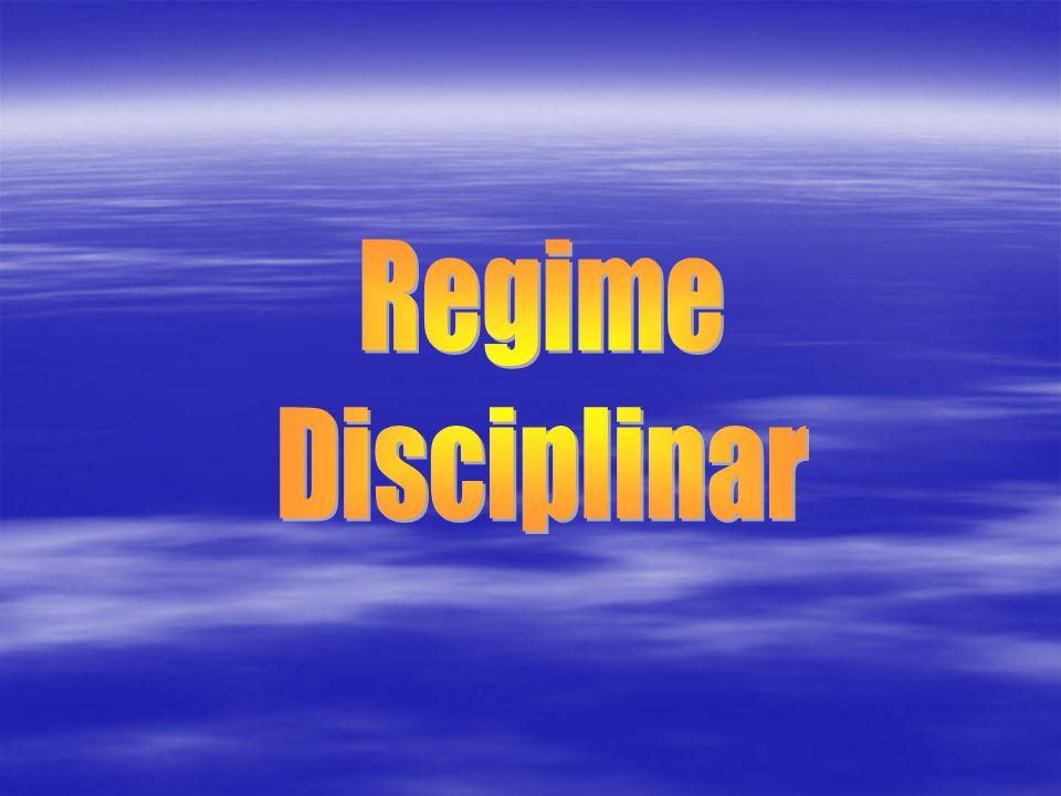 Regime Disciplinar