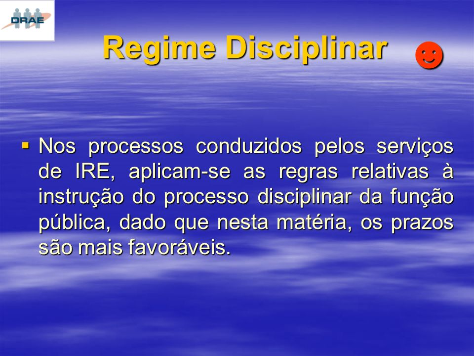 Regime Disciplinar ☻