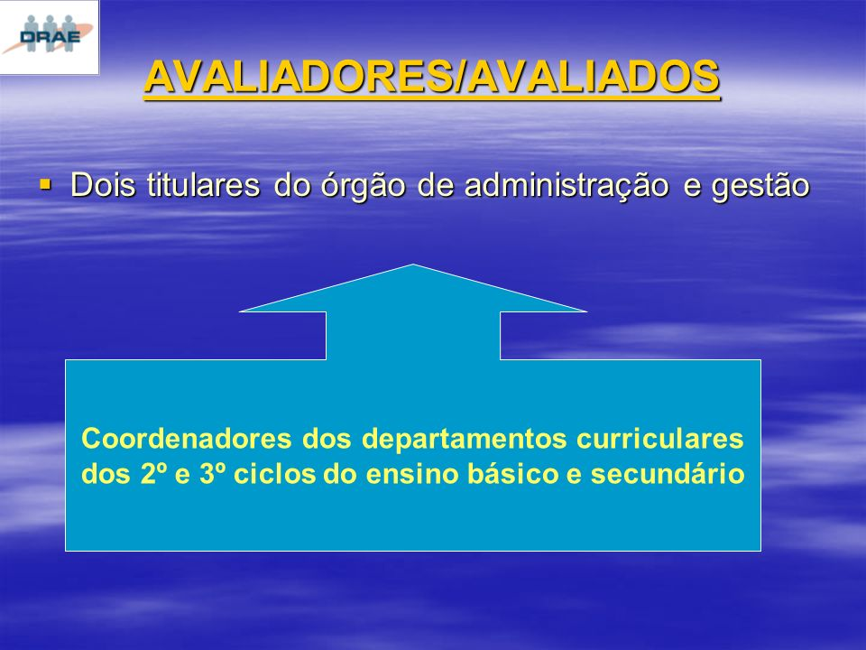 AVALIADORES/AVALIADOS