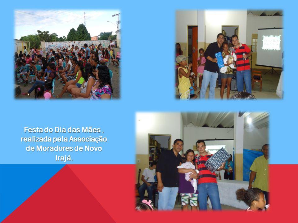 Festa do Dia das Mães , realizada pela Associação de Moradores de Novo Irajá.