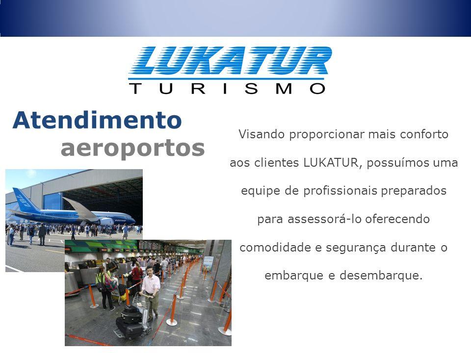 Atendimento aeroportos