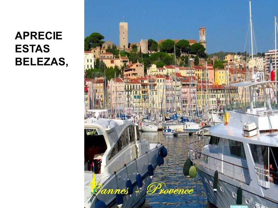 APRECIE ESTAS BELEZAS, Cannes - Provence