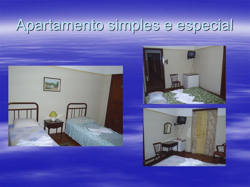Apartamento simples e especial