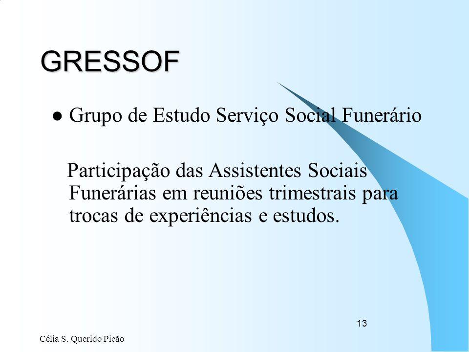 GRESSOF Grupo de Estudo Serviço Social Funerário
