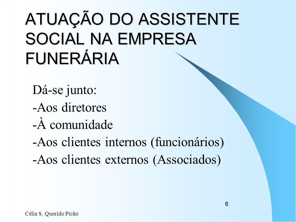 ATUAÇÃO DO ASSISTENTE SOCIAL NA EMPRESA FUNERÁRIA