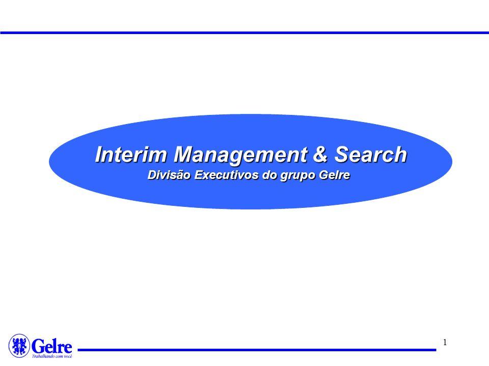 Interim Management & Search Divisão Executivos do grupo Gelre