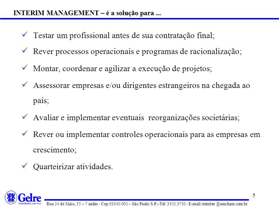 INTERIM MANAGEMENT – é a solução para ...