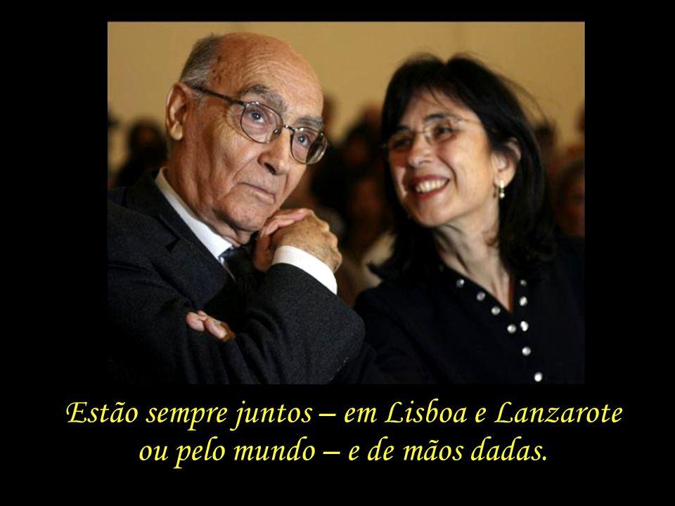 Estão sempre juntos – em Lisboa e Lanzarote