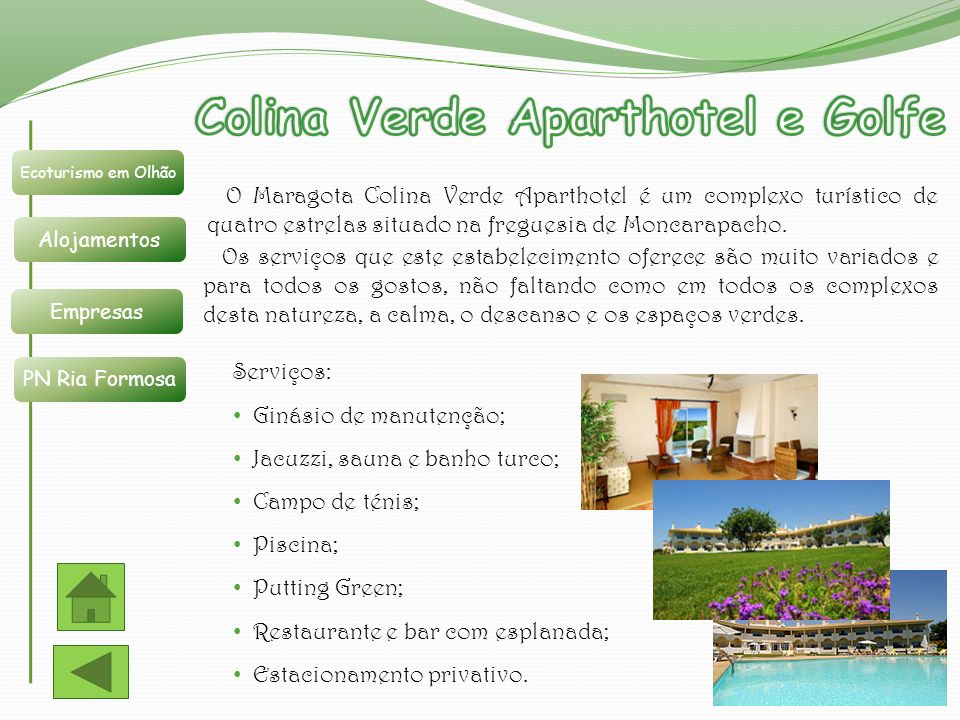 Colina Verde Aparthotel e Golfe