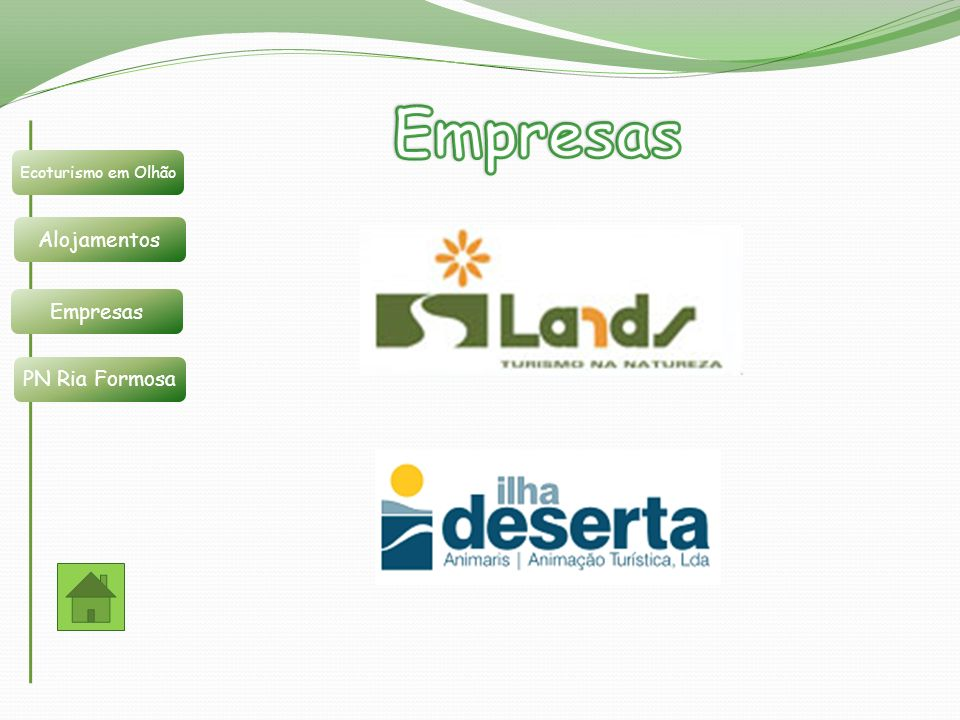 Empresas Ecoturismo em Olhão Alojamentos Empresas PN Ria Formosa