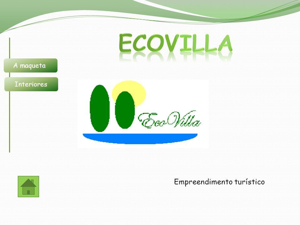 EcoVilla A maqueta Interiores Empreendimento turístico