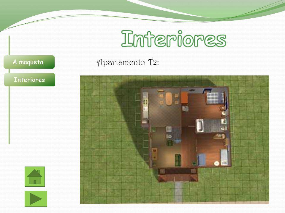 Interiores A maqueta Interiores Apartamento T2: