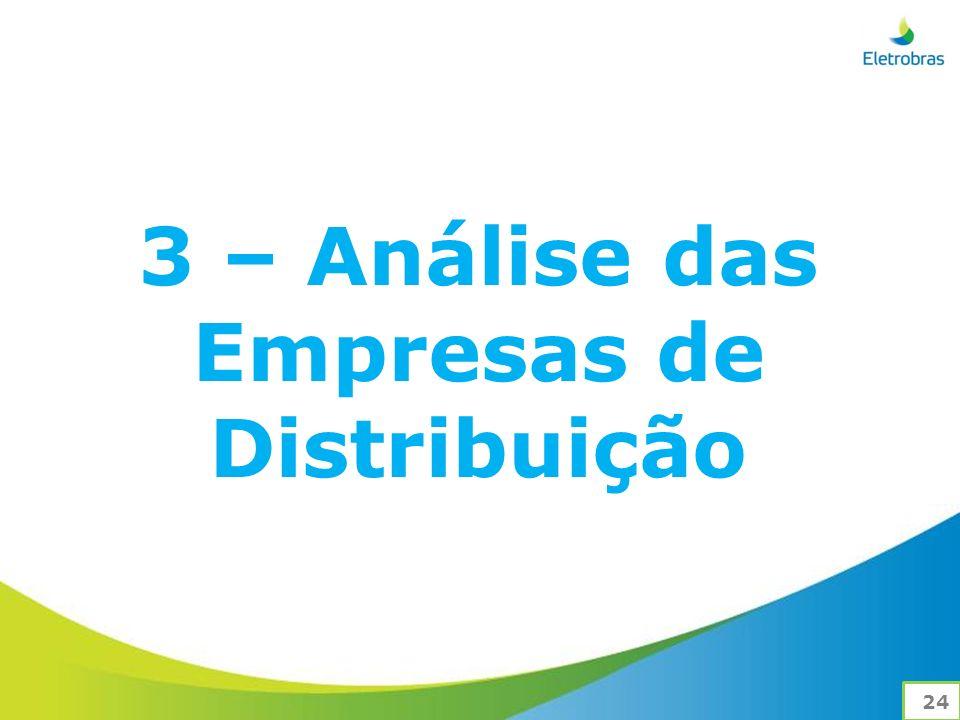 3 – Análise das Empresas de Distribuição